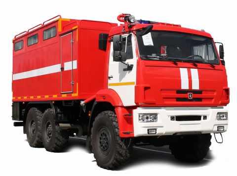 Пожарный рукавный автомобиль АР-2 на базе Камаз-53-50