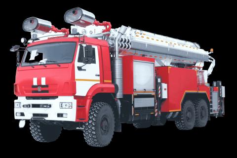 Пожарный ППП на шасси КамАЗ